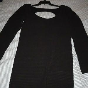 Bcbg long sleeve cocktail dress